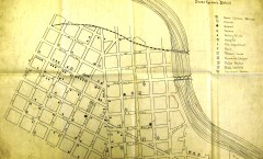 community assets map, seven corners, 1915, grace stevens, hclib