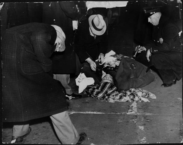 ligget murder, december 9, 1935, newspaper morgue files, hclib, rita y