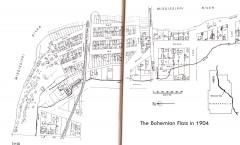 map of bohemian flats, Bohemian Flats book, WPA