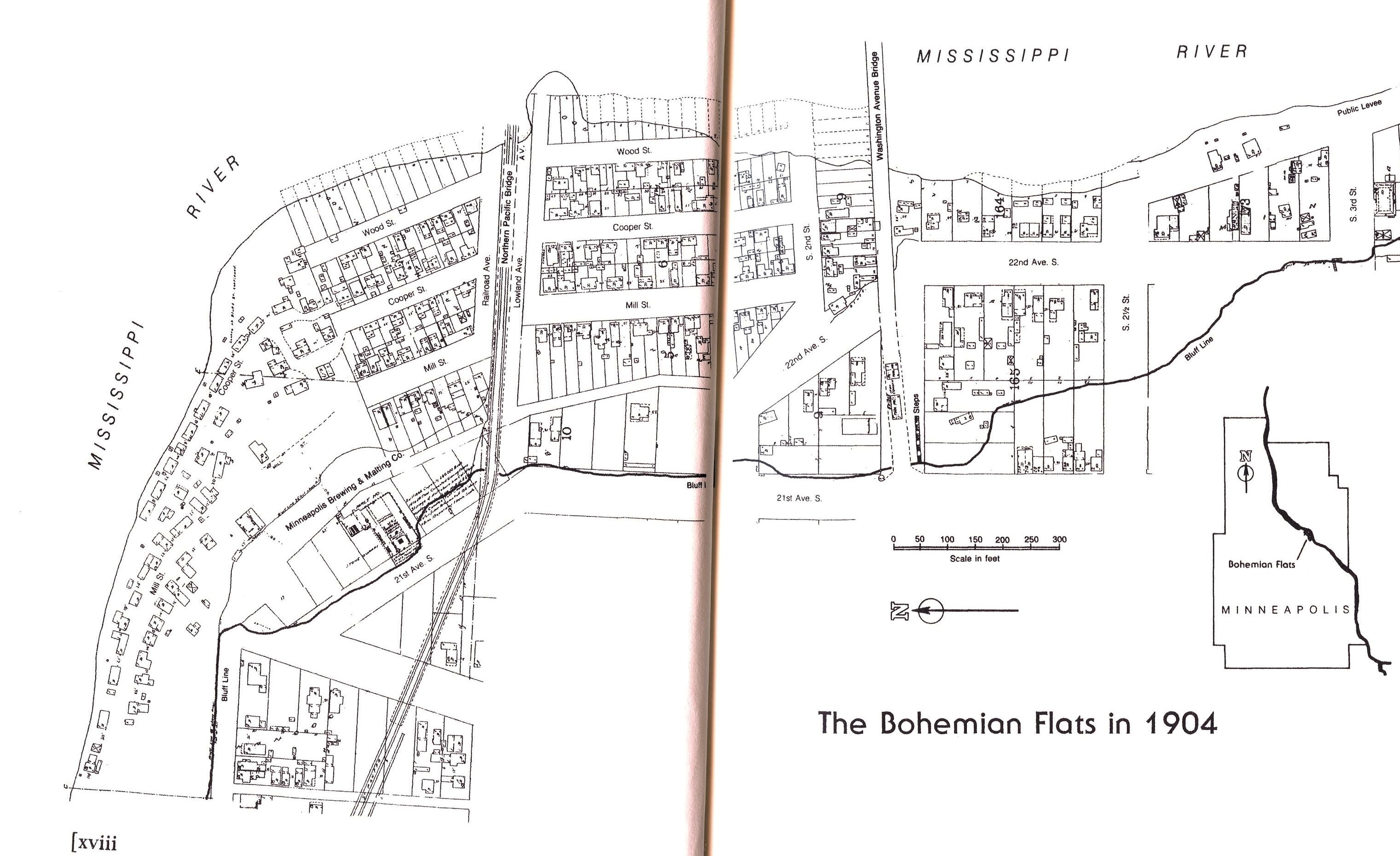 map of bohemian flats, Bohemian Flats book, WPA
