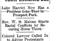 edited version, newspaper clipping for dereks' linden hills post