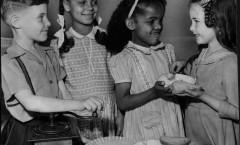 human relations training among children, 1946, northside, image 1, side 1