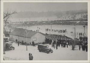 Powderhorn Park Skate Track, 1934.