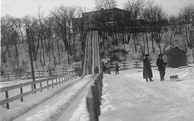 lake-harriet-toboggan-slide-1914, from david c. smith and park history
