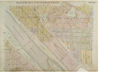 map of prospect park, 1914, real estate atlas, for derek's post