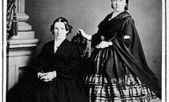 two women, MHS, 1860