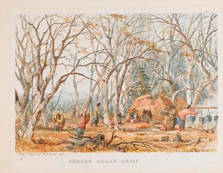 Indian sugar camp, eastman