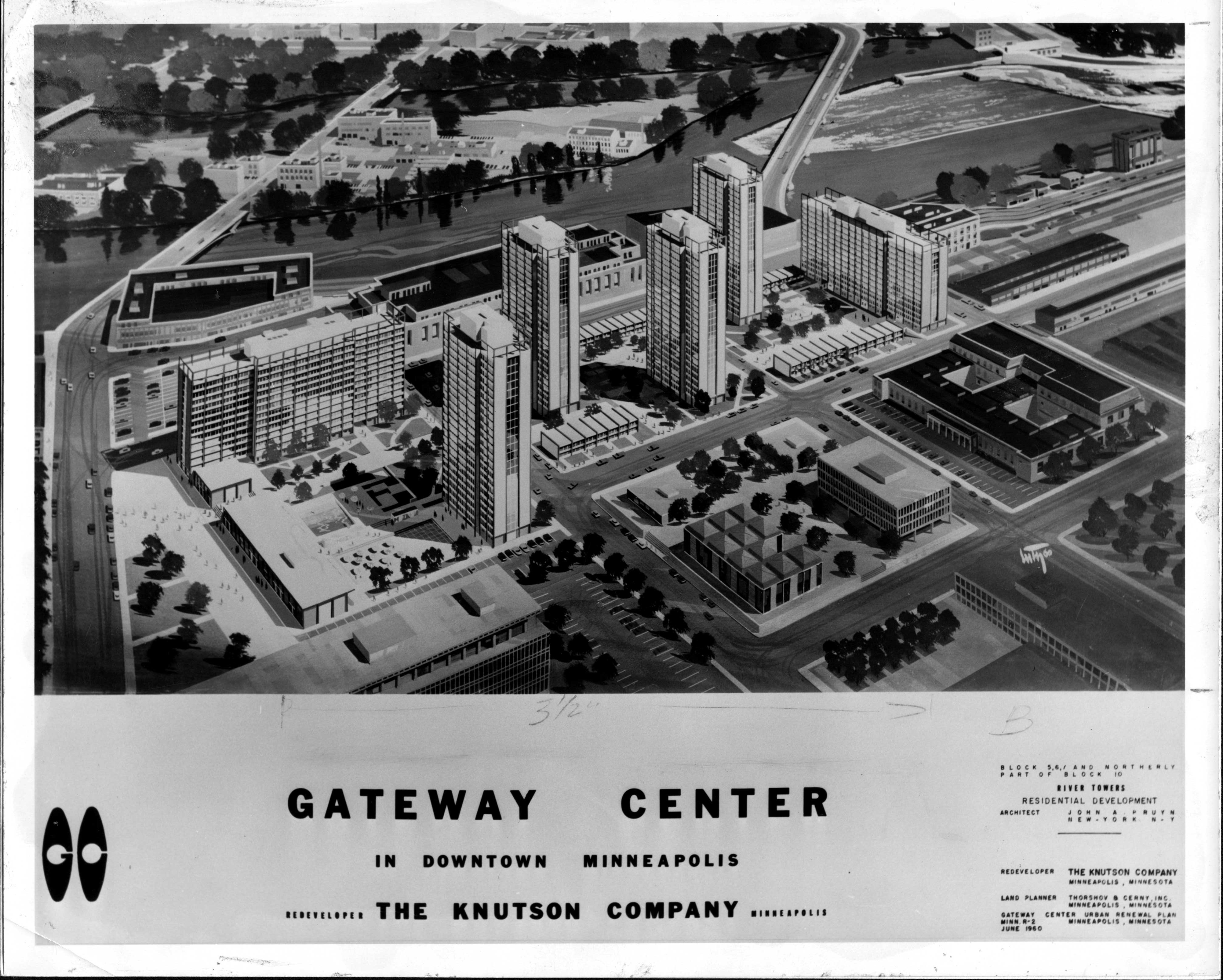 new gateway center, publicity image, side 1