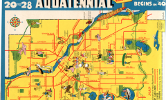 1940 Aquatennial map, smaller version