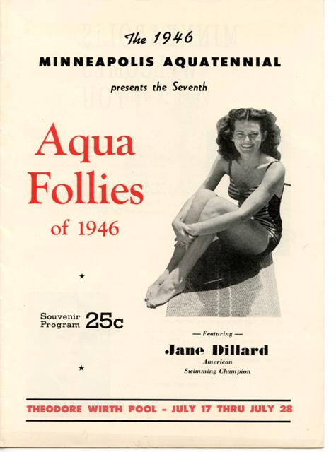 Aqua follies of 1946 cover, HHM
