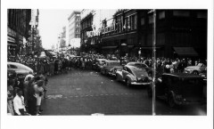 VJ day, nicollet avenue, photo 1, side 1