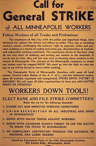 general strike poster, mhs HG3.18T a2