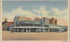 greyhound terminal, became first avenue