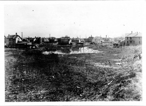 sumner field before construction, photo 1, side 1