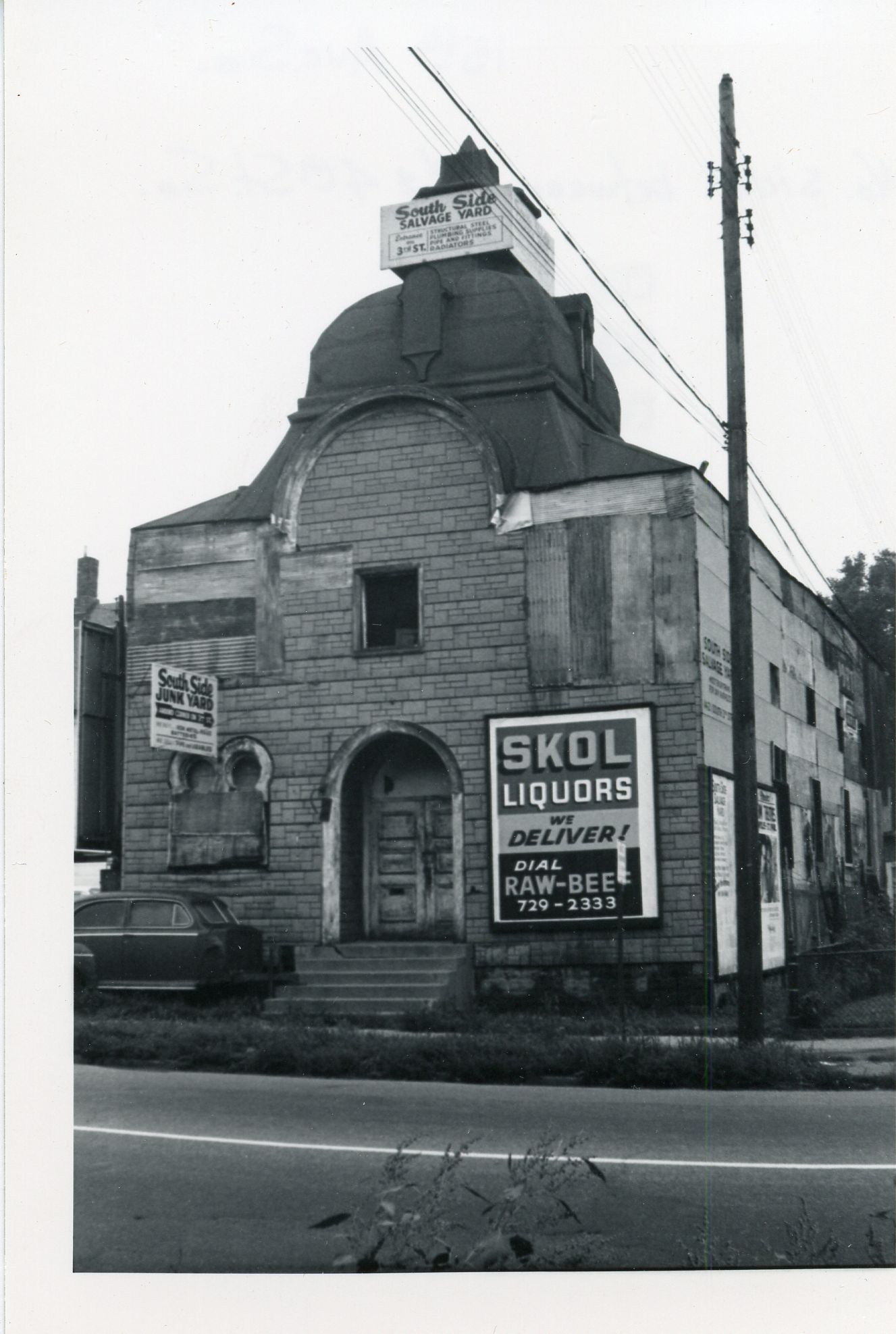 Skol liquors, Cedar Riverside, City Archive, Between 3rd and 4th streets, skol liquor, raw beef