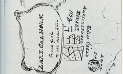 taliaferro's map of lake calhoun, from white and westerman's book001
