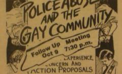 GLC Voice, police abuse, 1984