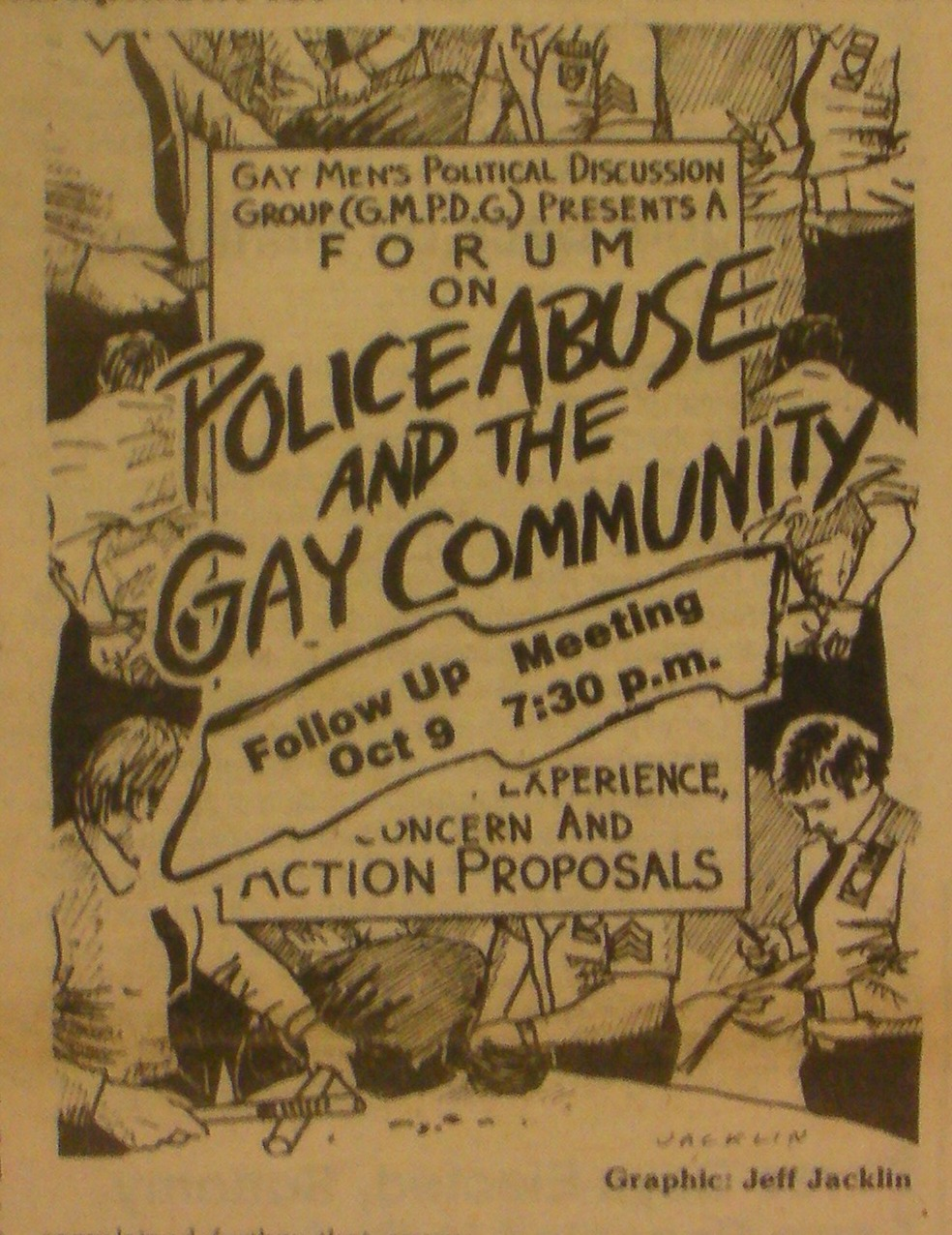 GLC Voice, police abuse, 1984