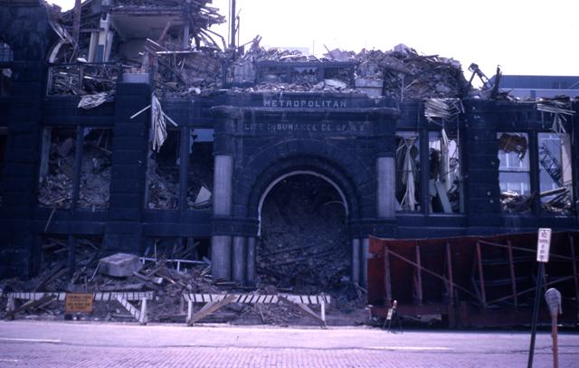 resized version, HHM Gateway030-Metropolitan Building Demolition - Front of the building