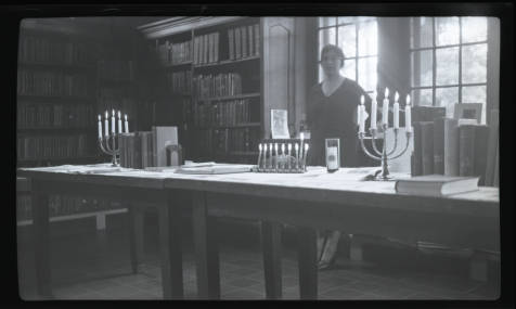 menorahs at Sumner_Branch_Minneapolis_Public_Library_Minneapolis_Minnesota c. 1915, hclib